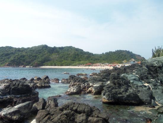Hotel Villas Paraiso: isla cuachalalate vista a isla coral
