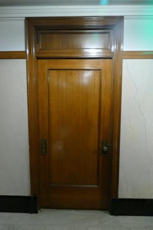 Courtyard by Marriott San Diego Downtown Room door - note old mail slot & Room door - note old mail slot - Picture of Courtyard by Marriott ...