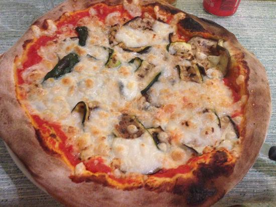 Pepe nero: Pizza ortolana