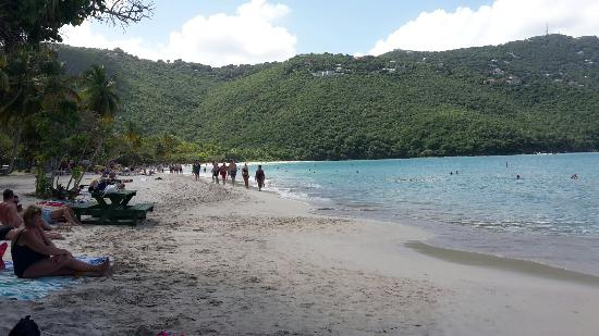 Cruz Bay, St. John: Maho Beach