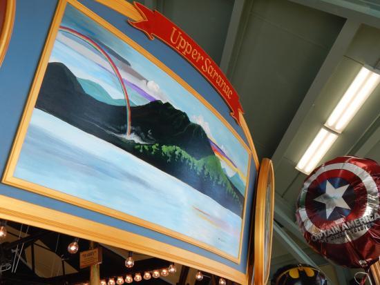 Adirondack Carousel: Beautiful piece of Adirondack culture.
