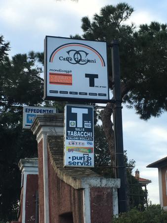 best value d7f4a ce29a Insegna - Foto di Bar Ristorante Cruciani, Roma - TripAdvisor