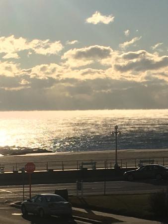 Avon by the Sea, NJ: Zoomed from Balcony