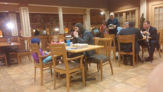 Wegmans Market Cafe: Family and Business meeting