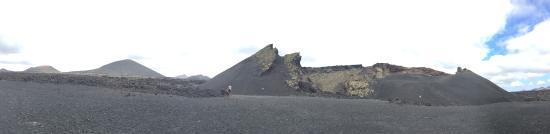 La Asomada, España: Raven's volcano