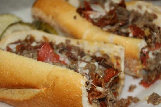 Giovanni's: Cheese steak with pepperoni