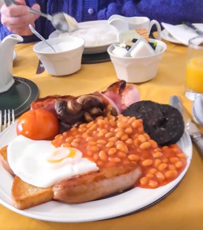 Raincliffe Hotel: Full English Raincliffe Breakfast