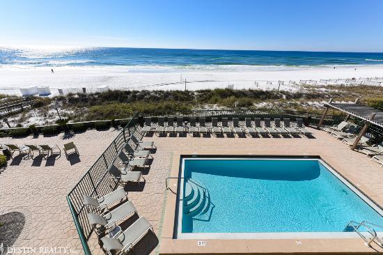 Destin Beach Club : Ocean View from Balcony