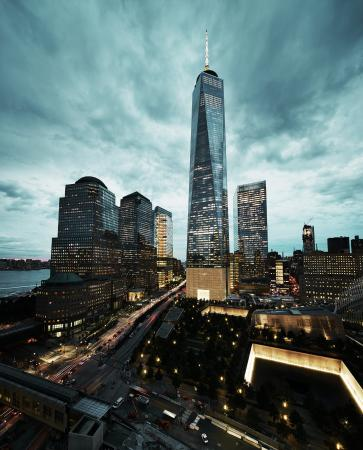 View of World Trade Center from our Terrace