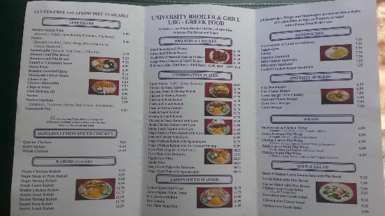 University Broiler & Grill