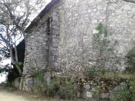 Ermita de Sant Sebastia: Vista lateral