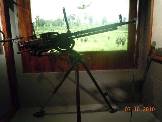 Collection of Japanese World War II weapons  - Picture of Fort