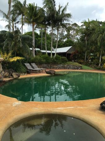 Coopers Shoot, Australia: Pool area