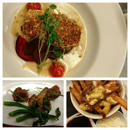 Era 67 Restaurant & Lounge: trio of goodness
