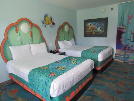 The Little Mermaid Room Beds - Picture of Disney\'s Art of ...