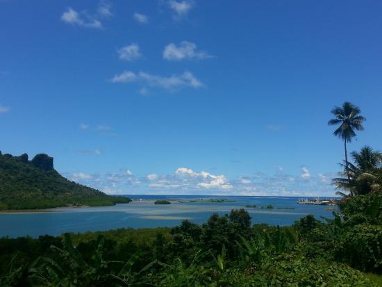 Колония, Федеративные Штаты Микронезии: View outside hotel