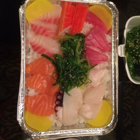 Tokyo Sushi: Chirashi sushi