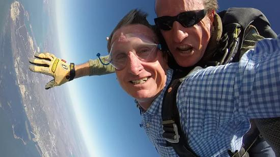 Skydive South Texas on Mustang Island: Jeff