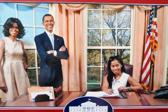 With Mr & Mrs Obama - Picture of Madame Tussauds Bangkok, Bangkok - TripA...