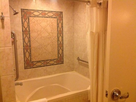 Large Tub Shower Combo Picture Of Polo Towers Suites Las Vegas TripAdvisor