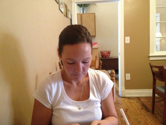 Bay City, Μίσιγκαν: Having lunch on July 14, 2012 with Carey L Poole
