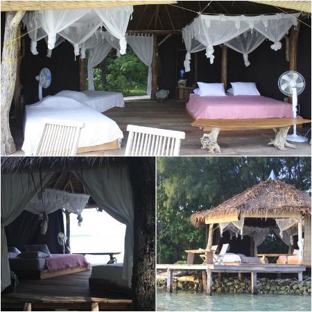 Pulau Macan Tiger Island Resort Island Hut