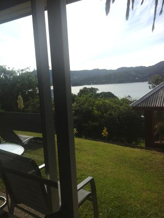 Sunseeker Lodge: view of harbour from apartment