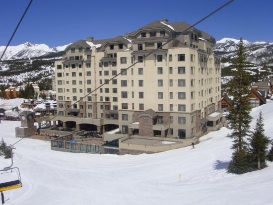 Arial View From The Roapway Picture Of Big Sky Resort