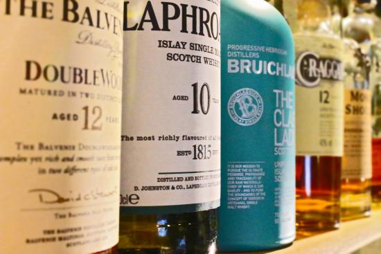 The Griffin Inn (Hotel): If Whisky is your poison, then look no further than our amazing malts