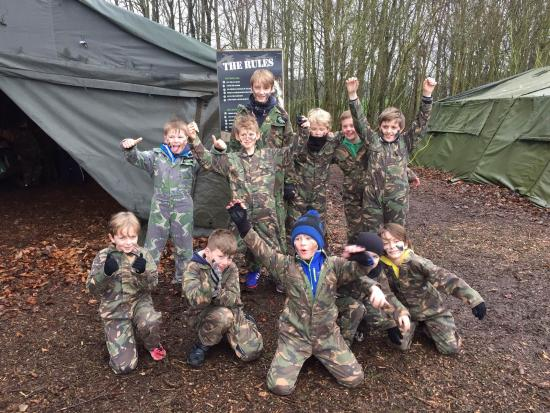 High Legh, UK: All kitted up and ready for action!