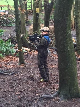 High Legh, UK: Scopig out Team Delta