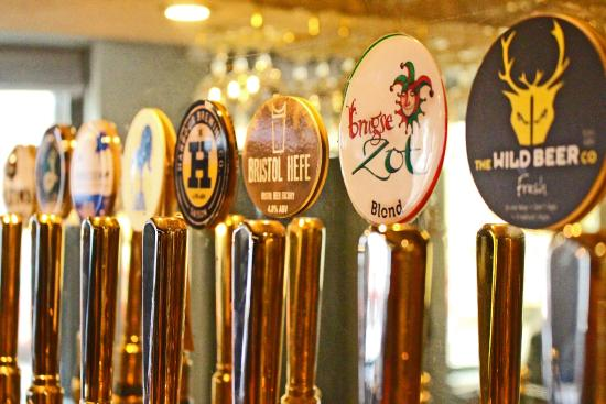 The Griffin Inn: With 18 Craft Beers & Ciders to choose from, you may find it hard to leave!