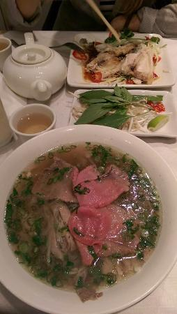 Song Que: Great pho!! Taste is AUTHENTIC - Very good!