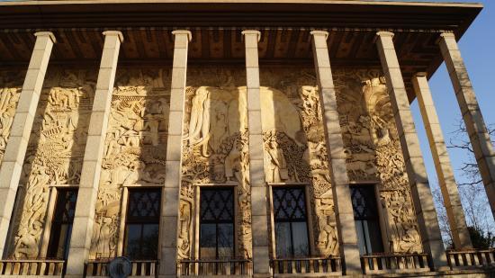 exposition fronti 232 res picture of palais de la porte doree musee de l histoire de l