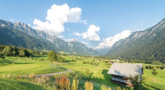 Alpiner Golfgenuss in Bludenz-Braz