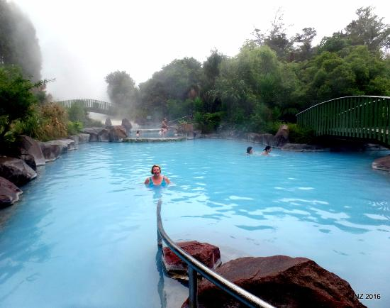 Spa Thermal Park and Riverbank Recreational and Scenic Reserve: Relax