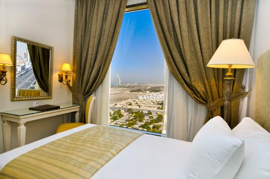 Gloria Hotel: Room Burj Al Arab view