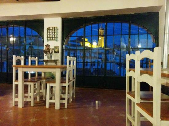 Fuenteheridos, Spanien: Vistas desde la arquria