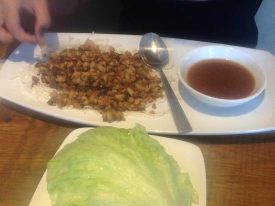 lettuce wraps - aperitivo - Picture of California Pizza Kitchen ...