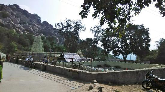 Aragonda, India: Anjaneya Swami Temple