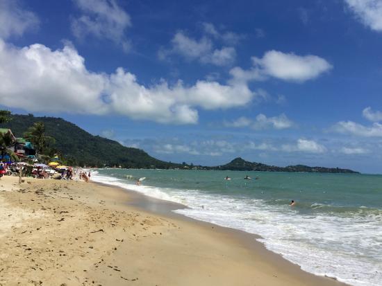 grosses vagues montantes sur lamai beach koh samui picture of rh tripadvisor co za