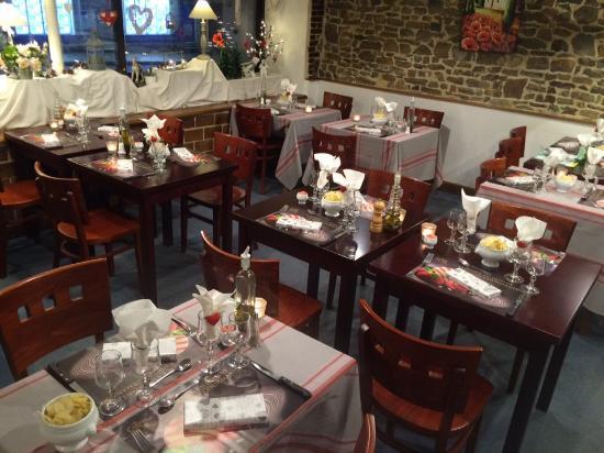 Pre-en-Pail, Frankrig: soirée St Valentin