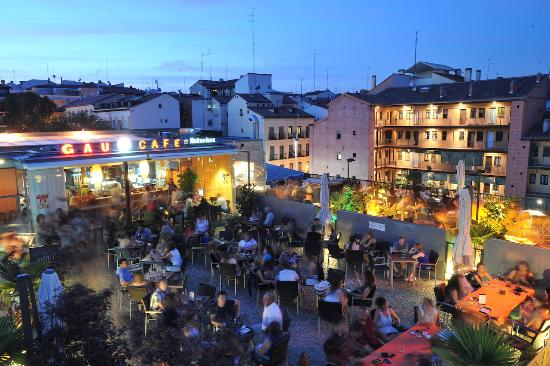 Terraza Gau Cafe Picture Of Gau Cafe Madrid Tripadvisor