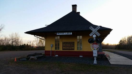 ‪‪Moose Lake‬, ‪Minnesota‬: The old Depot, now Fires of 1918 Musuem‬