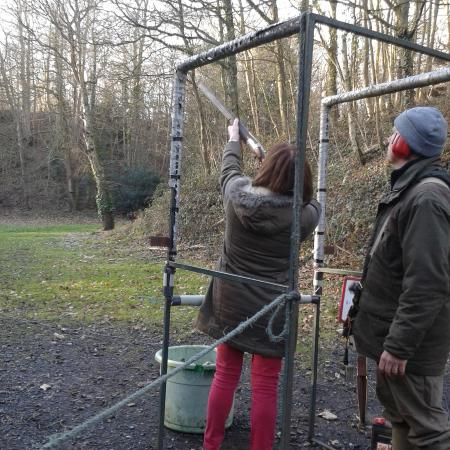 Greenfields Shooting Grounds: One of the three areas that we tried out.