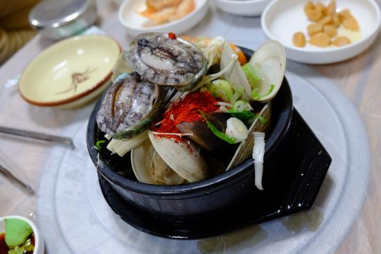 Sokcho Hang Seafood Steamed Dish