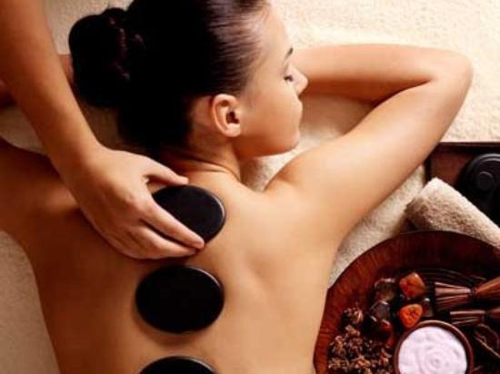 Tarn-et-Garonne, Francia: massage aux pierres chaudes