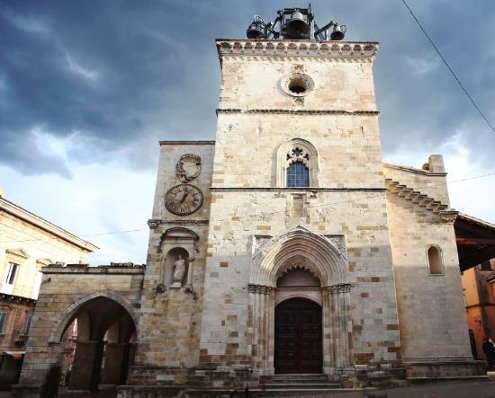 Cattedrale di Santa Maria Maggiore - Affresco di San Cristoforo