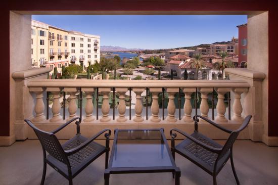 Hilton Lake Las Vegas Resort Spa Private Balcony Room View