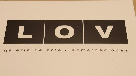 LOV Galeria de arte . enmarcaciones